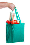 Groceries in Hand Royalty Free Stock Photo