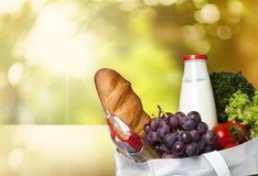 Groceries Stock Photography
