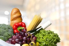 Groceries Stock Image