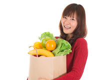 Groceries shopping Royalty Free Stock Photos