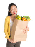 Groceries shopping Stock Image