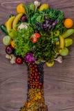Groceries tree Stock Image
