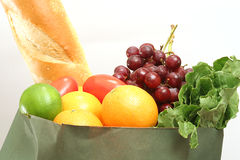 Groceries upclose. Shot of assorted groceries upclose Royalty Free Stock Photo
