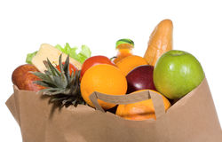 Grocery bag Stock Photography