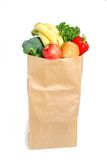 Grocery Bag. On white background royalty free stock images