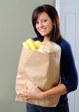 Grocery Bag Royalty Free Stock Images