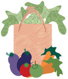 Grocery Bag Royalty Free Stock Image