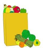 Grocery Bag Stock Photo