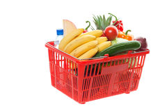 Grocery basket Royalty Free Stock Image