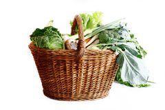 Grocery Basket Stock Image