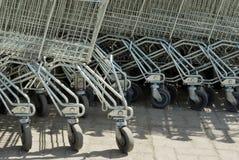 Grocery cart Stock Photos