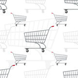 Grocery carts Royalty Free Stock Images