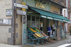 Grocery in Chateldon Royalty Free Stock Photos