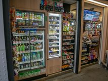 Food and drink in Tokyo Japan. Grocery Food and drink cost of living in Tokyo Japan, in 2018 royalty free stock photography
