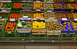 Grocery market Royalty Free Stock Images