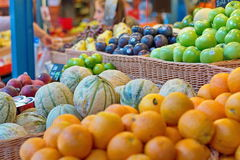 Grocery on a market Royalty Free Stock Images