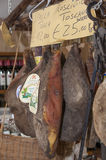 Grocery and meat shop in Italy Stock Photos