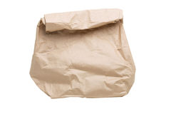 Grocery paper bag Royalty Free Stock Photos