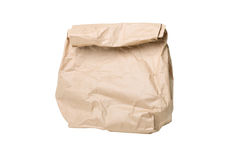 Grocery paper bag Stock Photo