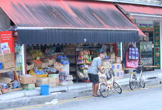 Grocery shop Little India Singapore Royalty Free Stock Photo