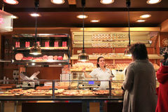 Grocery shop in Rome Stock Photography
