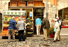 Grocery shop in Spain Royalty Free Stock Image