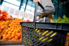Grocery Shopping Royalty Free Stock Images
