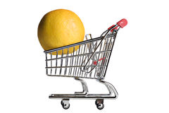 Grocery shopping Stock Image