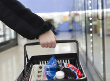 Grocery Shopping Stock Photography