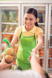 Grocery shopping Stock Images