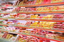 Grocery store stock image