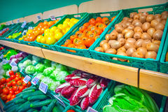 Grocery store Royalty Free Stock Photography