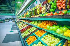 Grocery store stock photos