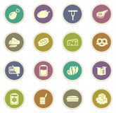 Grocery store icon Stock Images