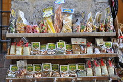 Grocery store in Italy Stock Photography