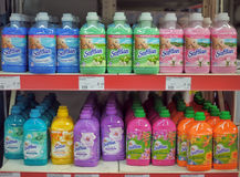Grocery Store: Laundry Detergent Stock Photo
