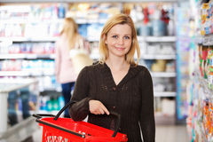 Grocery Store Portrait Stock Photography
