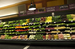 Grocery store. A grocery store selling a lot of vegetables Stock Photo