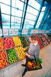 Grocery Store Shopping Royalty Free Stock Photography