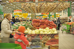 Grocery store supermarket Stock Image