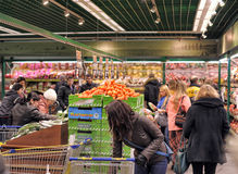 Grocery store supermarket Royalty Free Stock Photos