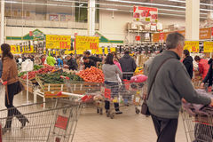 Grocery store supermarket Royalty Free Stock Image