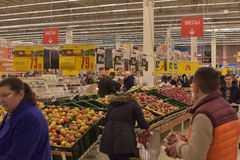 Grocery store supermarket Royalty Free Stock Images