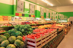 Grocery store. Very neat and organized grocery store Stock Photo