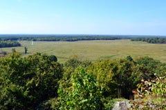 Grochowej grani Krajowy wojskowy Parkuje zdjęcie stock
