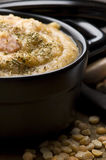 Grochowka - Polish Pea Soup Stock Photography
