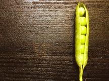 Grochowy strąk jeden obrazy stock