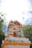 Groden Mönch mit Wolke Stockfotografie