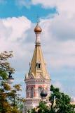 Grodno, Беларусь Собор заступничества самого святого Theotokos в улице e Ozheshko Другое имя Стоковые Изображения RF