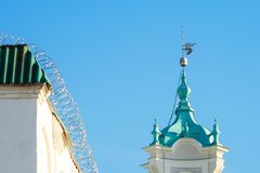 Grodno, Belarus: Cathedral of St. Francis Xavier royalty free stock photography